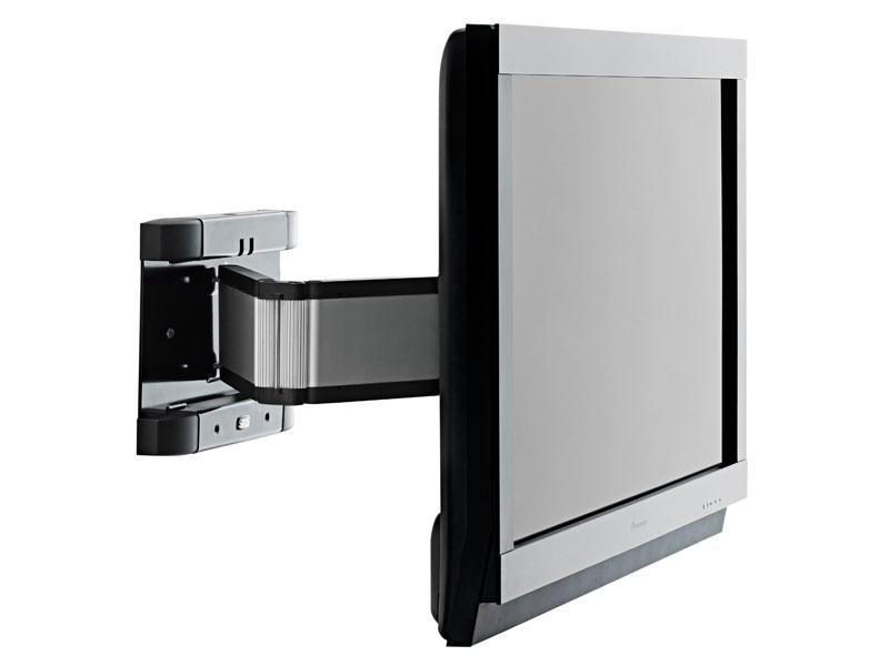 sms flatscreen tv wandhalterung wh 3d aluminium klavierschwarz. Black Bedroom Furniture Sets. Home Design Ideas