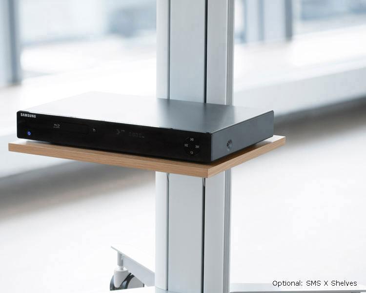 sms flatscreen x wfh 1955 2 fach monitor wandhalterung. Black Bedroom Furniture Sets. Home Design Ideas